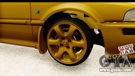 Rover 220 Gold Edition for GTA San Andreas back view