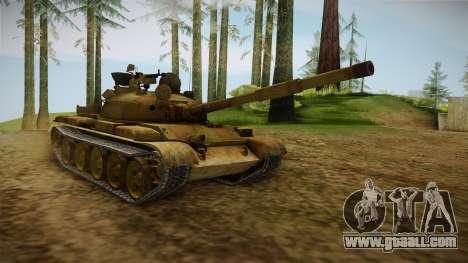 T-62 Desert Camo v3 for GTA San Andreas
