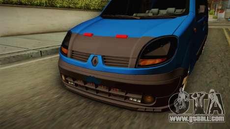 Renault Kangoo for GTA San Andreas inner view