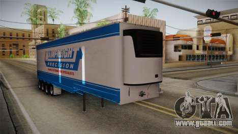 Trailer 4 Axle for GTA San Andreas back left view