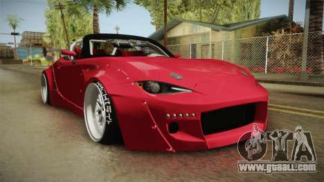 Mazda MX-5 2016 Hachiraito for GTA San Andreas