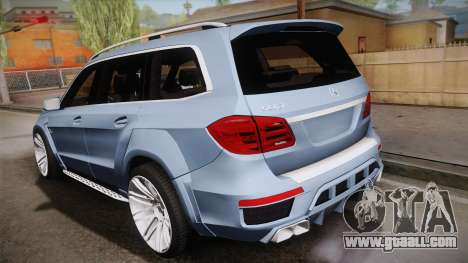 Mercedes-Benz GL63 Brabus for GTA San Andreas left view