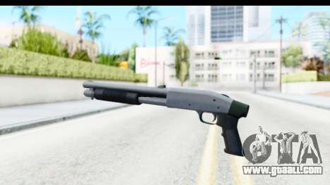 Tactical Mossberg 590A1 Chrome v1 for GTA San Andreas second screenshot