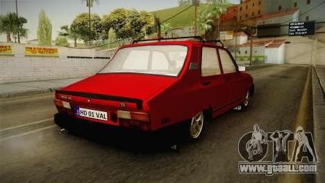 Dacia 1310 TX 1986 v2 for GTA San Andreas back left view