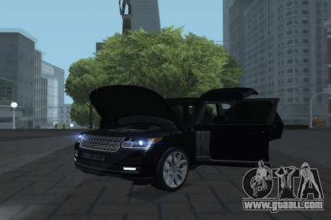 Land Rover Range Rover Vogue for GTA San Andreas right view