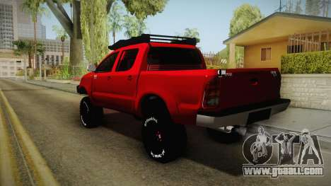 Toyota Hilux 2010 Venezolana de Off Road for GTA San Andreas left view