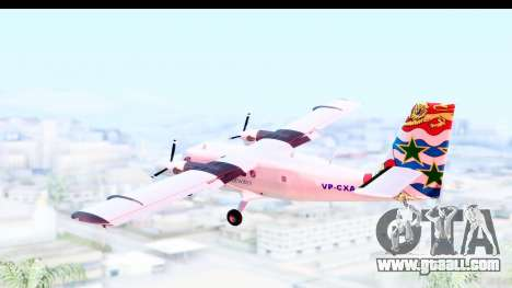 DHC-6-400 Cayman Airways for GTA San Andreas right view