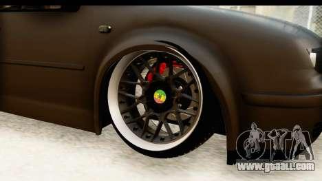 Volkswagen Bora Pickup for GTA San Andreas back view