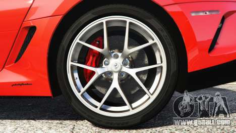 GTA 5 Ferrari 599 GTO [add-on] rear right side view