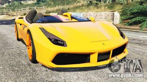 Ferrari 488 Speedster 2016 [replace] for GTA 5