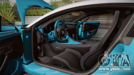 Bugatti Chiron 2017 v2.0 Italian Plate for GTA San Andreas inner view
