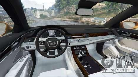 Audi A8 L (D4) 2013 [replace] for GTA 5
