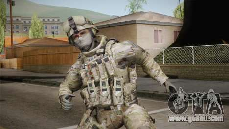 Multicam US Army 4 v2 for GTA San Andreas