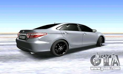 Toyota Camry for GTA San Andreas right view