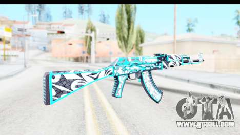 AK-47 Frontside Misty for GTA San Andreas second screenshot