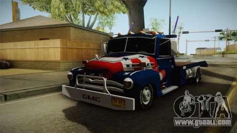 GMC 4100 1950 GRUA for GTA San Andreas
