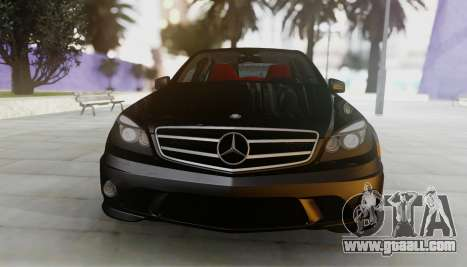 Mercedes-Benz C63 AMG w204 for GTA San Andreas left view