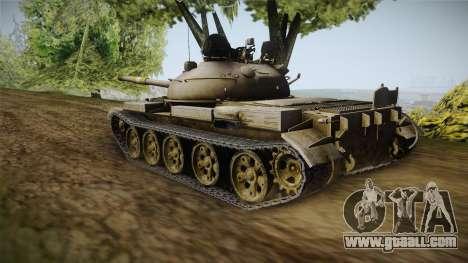T-62 Desert Camo v1 for GTA San Andreas