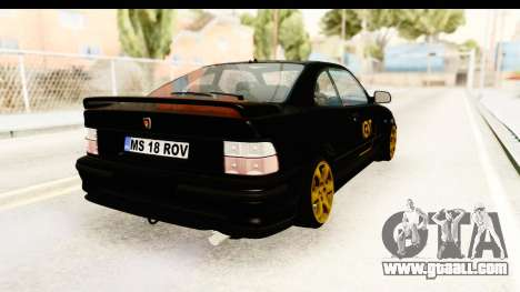 Rover 220 Kent Edition for GTA San Andreas back left view