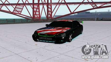 VAZ 2170 LADA PRIORA for GTA San Andreas