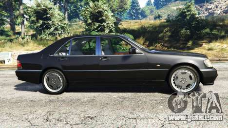 Mercedes-Benz W140 AMG [replace] for GTA 5