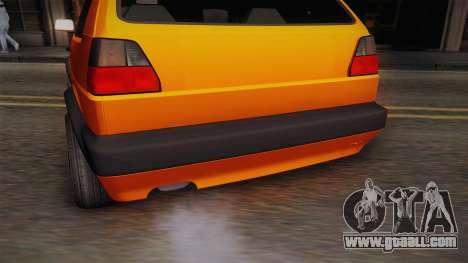Volkswagen Golf Mk2 GTI .ILchE STYLE. for GTA San Andreas side view
