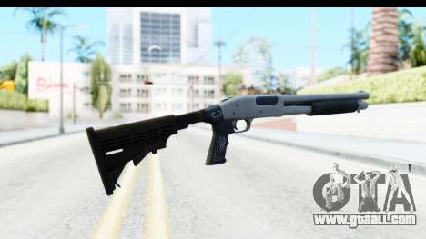 Tactical Mossberg 590A1 Chrome v2 for GTA San Andreas second screenshot