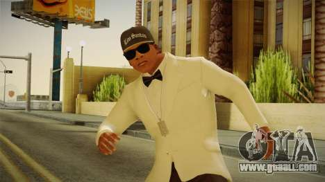 GTA 5 Franklin Tuxedo v3 for GTA San Andreas