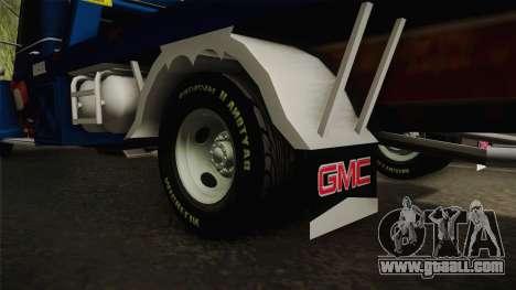 GMC 4100 1950 GRUA for GTA San Andreas inner view