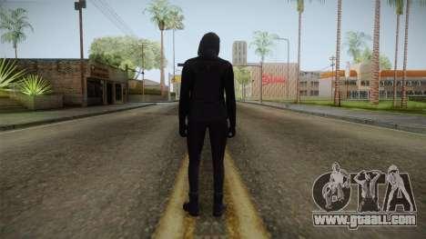 GTA 5 Heists DLC Female Skin 1 for GTA San Andreas third screenshot