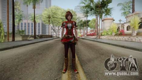 Dynasty Warriors 8 - Sun ShangXiang Remade for GTA San Andreas second screenshot