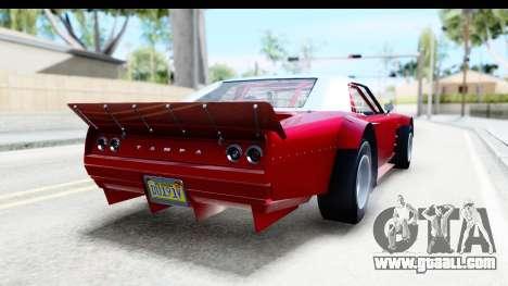 GTA 5 Declasse Tampa Drift IVF for GTA San Andreas left view