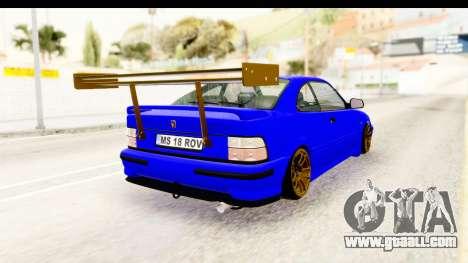 Rover 220 Kent Edition de Haur for GTA San Andreas right view