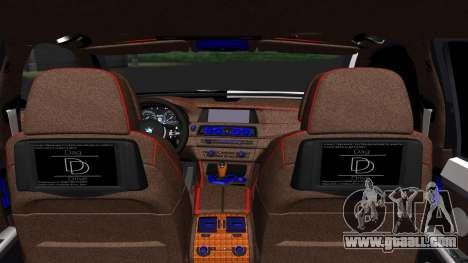 BMW 750i Smotra Kiev for GTA San Andreas back left view