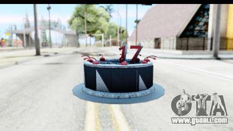 Han Farhan Cake Grenade for GTA San Andreas third screenshot