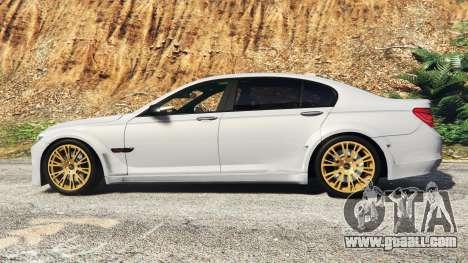 GTA 5 BMW 760Li (F02) Lumma CLR 750 [add-on] left side view