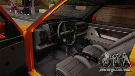 Volkswagen Golf Mk2 GTI .ILchE STYLE. for GTA San Andreas back view