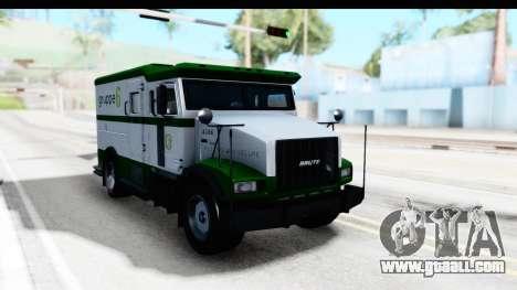 GTA 5 Stockade v1 IVF for GTA San Andreas right view