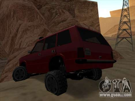 Huntley Offroad for GTA San Andreas left view