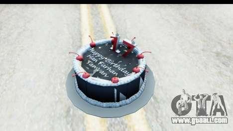 Han Farhan Cake Grenade for GTA San Andreas
