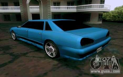 Elegy Sedan for GTA San Andreas right view