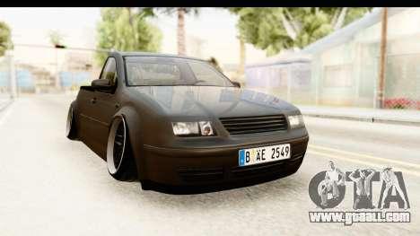 Volkswagen Bora Pickup for GTA San Andreas right view