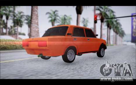 VAZ 2105 patch 2.0 for GTA San Andreas left view