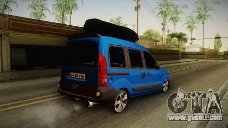 Renault Kangoo for GTA San Andreas left view