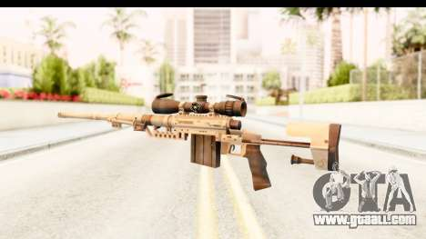 Cheytac M200 Intervention Tan for GTA San Andreas second screenshot
