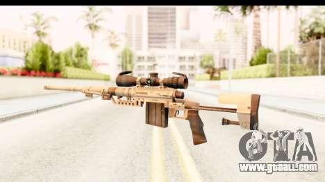 Cheytac M200 Intervention Tan for GTA San Andreas second screenshot