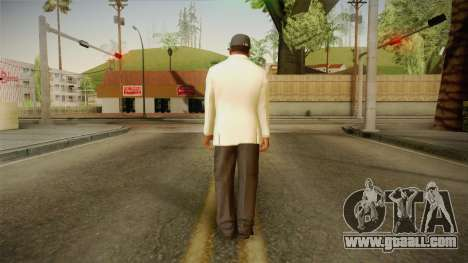 GTA 5 Franklin Tuxedo v3 for GTA San Andreas third screenshot
