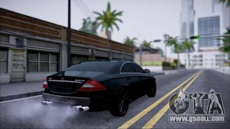 Mercedes-Benz Cls 630 for GTA San Andreas back view