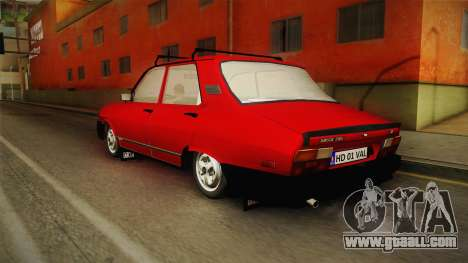 Dacia 1310 TX 1986 v2 for GTA San Andreas left view