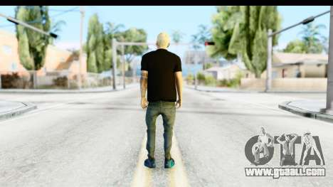 Blonde Messi for GTA San Andreas third screenshot